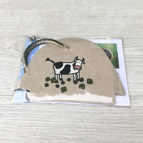 Coin Purse Sewing Kit with Kiss Clasp in Choice of Fabrics - Ideal Stocking Filler