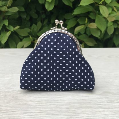 Floral Print Coin Purse Sewing Kit with Kiss Clasp - Ideal Stocking Filler