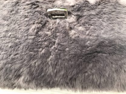 Luxury Clutch Purse in Super Soft Brown Faux Fur with Brown Cotton Lining